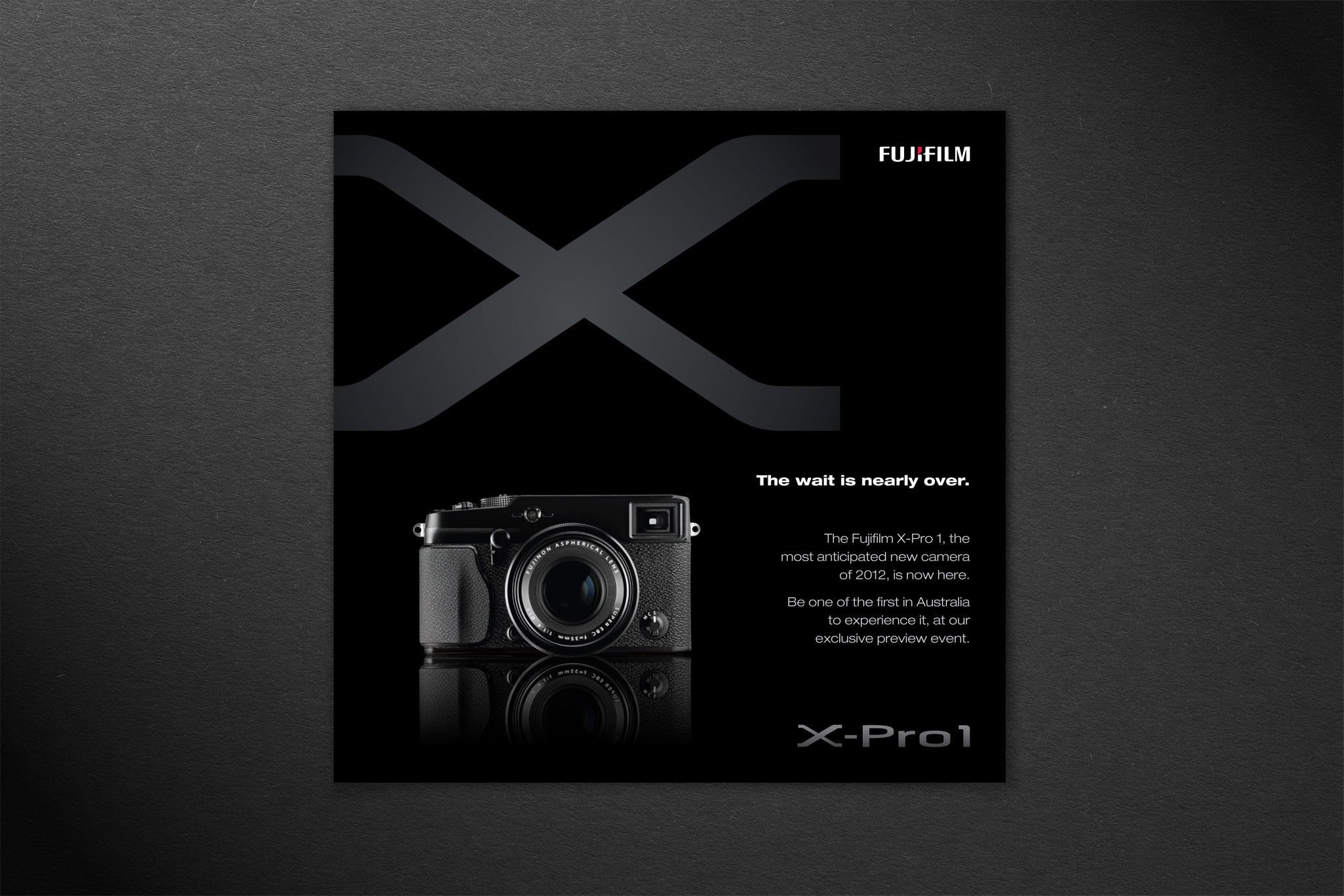 fujifilm x pro1 launch event invitation design niche marketing group